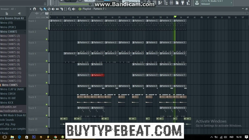 fl studio 12 trap beat tutorial