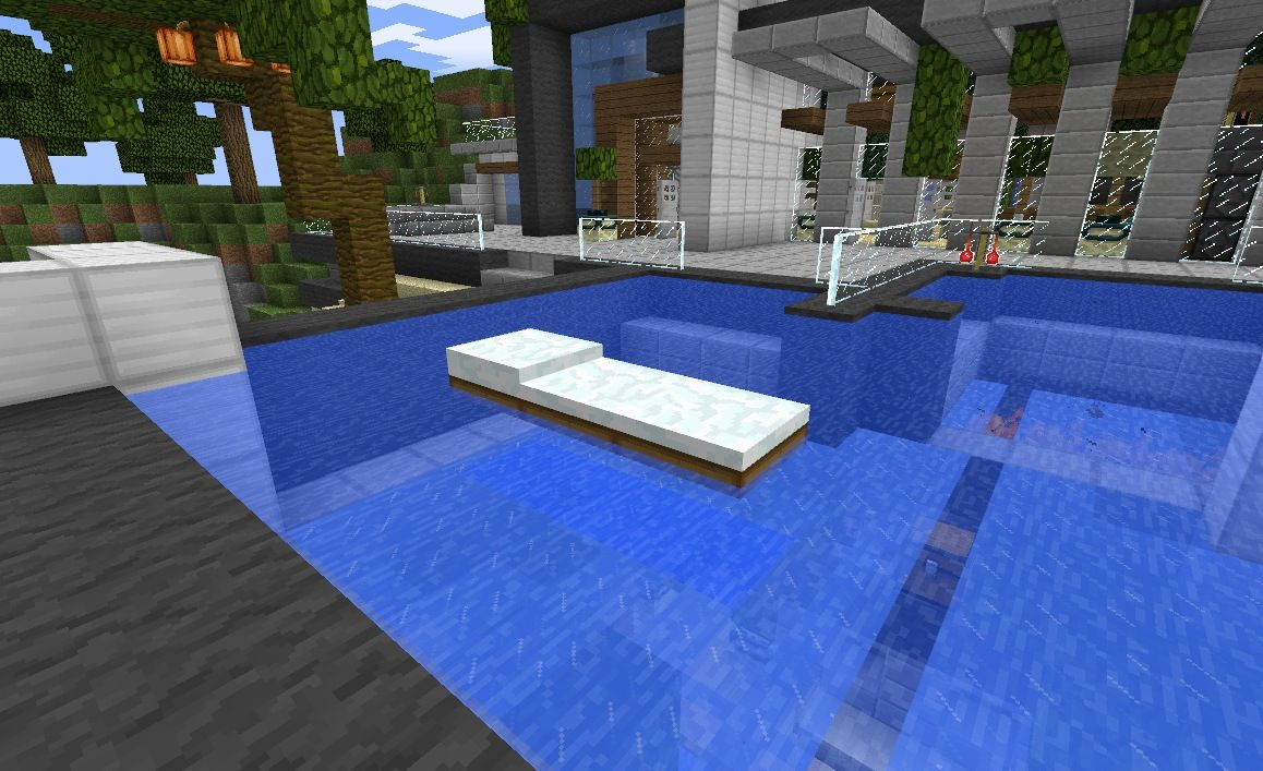 minecraft pe mansion tutorial