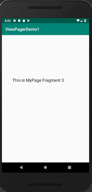 android viewpager example tutorial