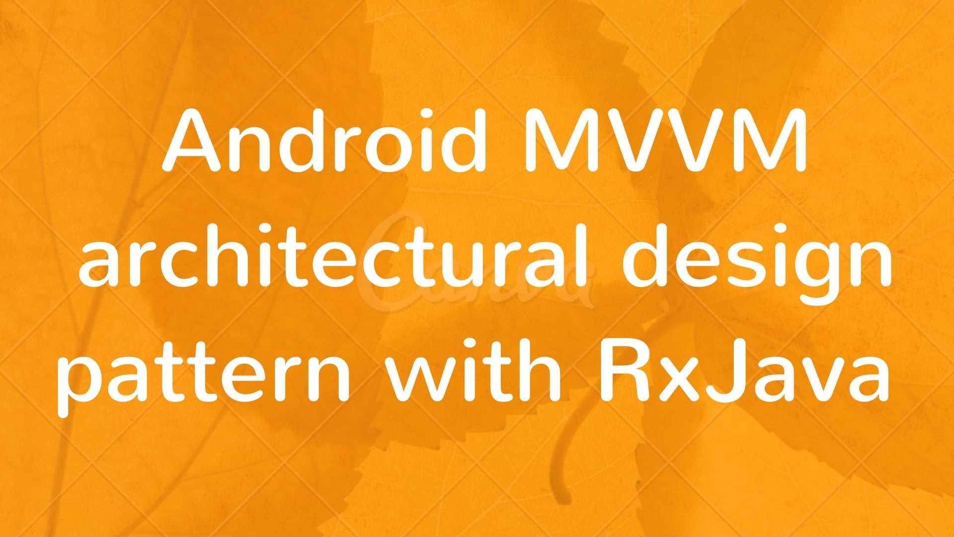 android mvp pattern tutorial