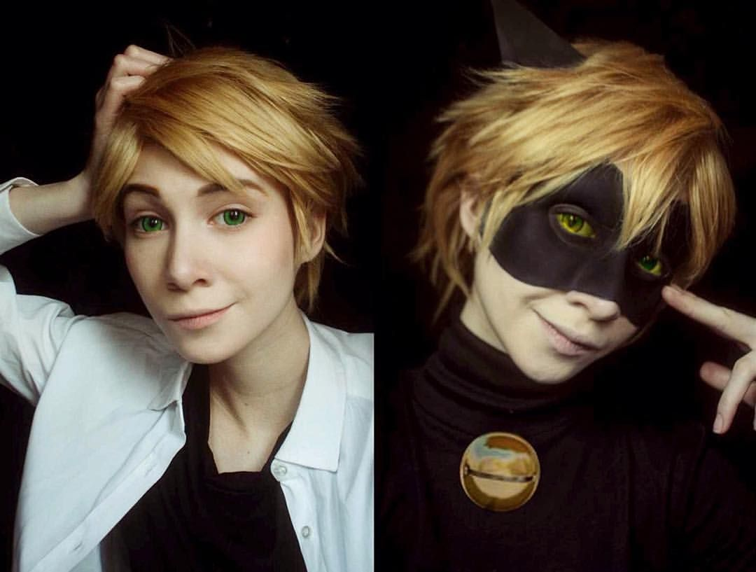 cat noir cosplay tutorial