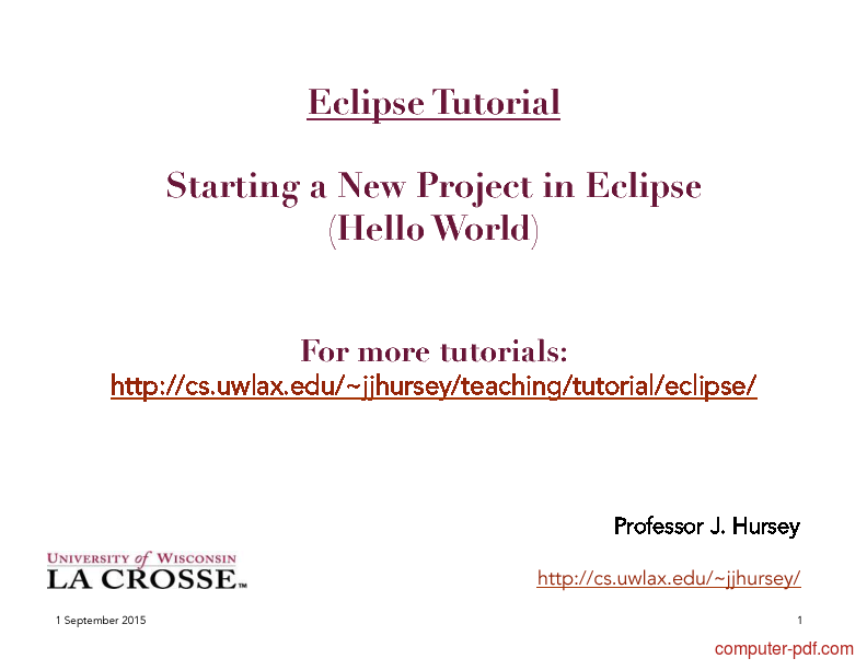 eclipse php tutorial for beginners pdf