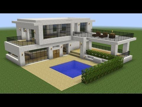 minecraft house tutorial easy